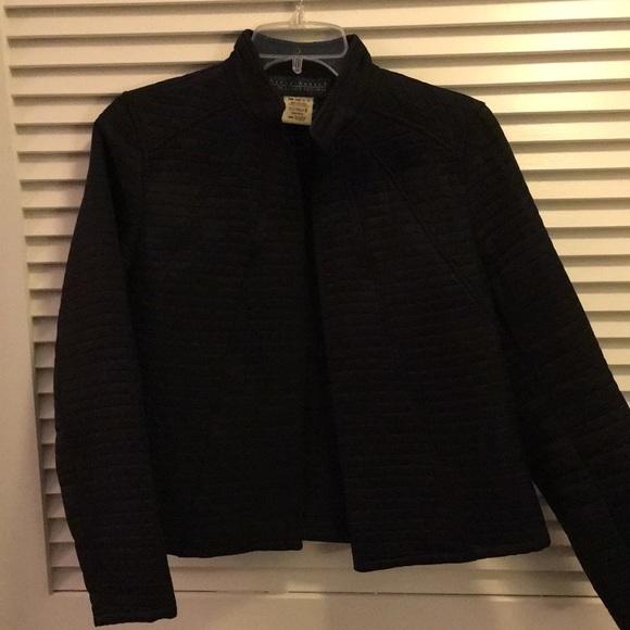 Harve Benard Jackets Coats Womens Black Quilted Jacket Size 6
